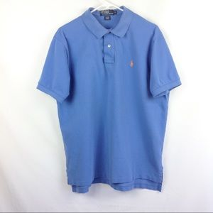 Polo Ralph Lauren Men's XL Blue Polo Shirt